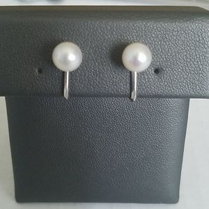 Mikimoto 7mm Pearl Screwback Earrings